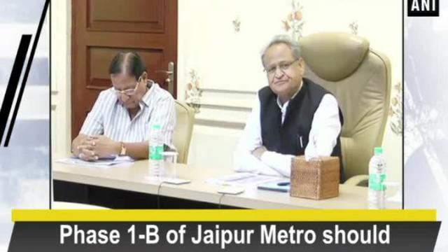 Phase 1-B of Jaipur Metro should complete early: CM Gehlot