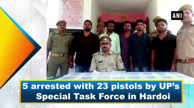 5 arrested with 23 pistols by UP's Special Task Force in Hardoi