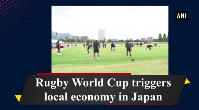 Rugby World Cup triggers local economy in Japan