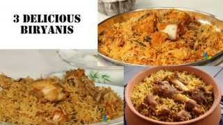 3 Delicious Biryani Recipes