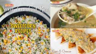 Sweetcorn Recipes