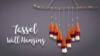 Tassel Wall hanging