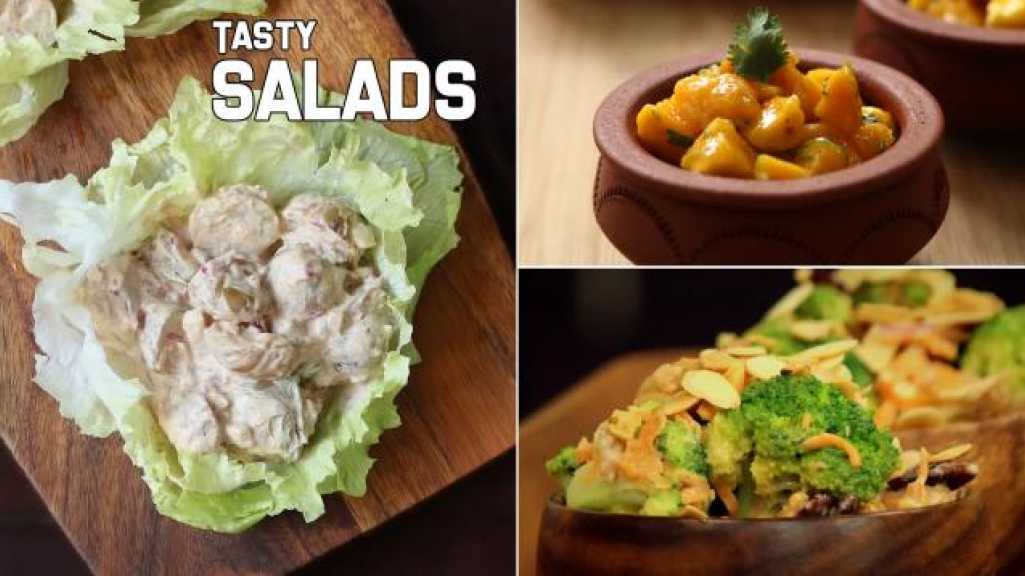 4 Easy and Tasty Salads