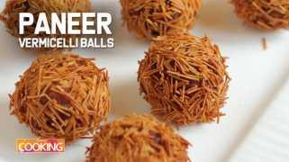 Paneer Vermicelli Balls