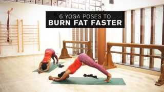 6 Yoga Poses To Burn Fat Faster