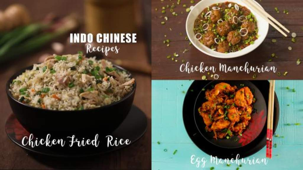 Indo Chinese Reccipes  Chicken Fried Rice  Chicken Manchurian  Egg Manchurian