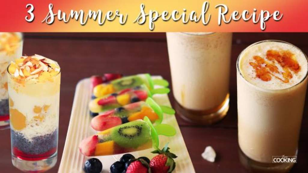 3 Summer Special recipes