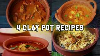 4 Clay pot Recipes
