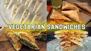 4 Easy Vegetarian Sandwiches