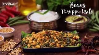 Beans Paruppu Usili