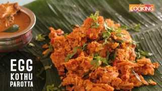 Egg Kothu Parotta