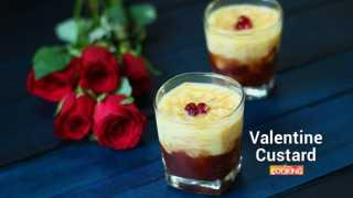 Valentine Custard