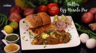 Butter Egg Masala Pav