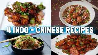 4 Restaurant styled indo-chinese recipes
