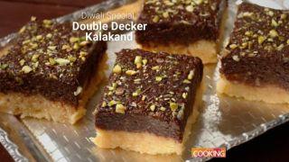Double Decker Kalakand