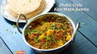 Dhaba Style Aloo Matar Keema