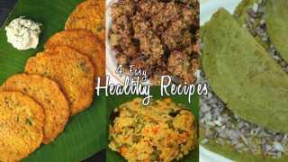 4 Easy Healthy Recipes