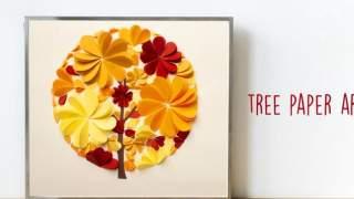 Tree Paper Art   Paper Craft