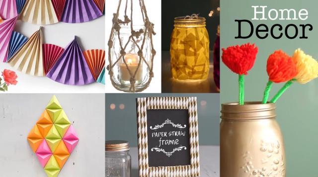 Home Decor Ideas You Can Easily DIY  DIY Room Decor