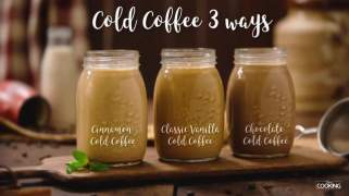 Cold Coffee 3 ways
