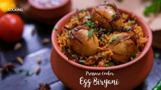 Pressure Cooker Egg Biryani