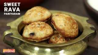 Sweet Rava Paniyaram