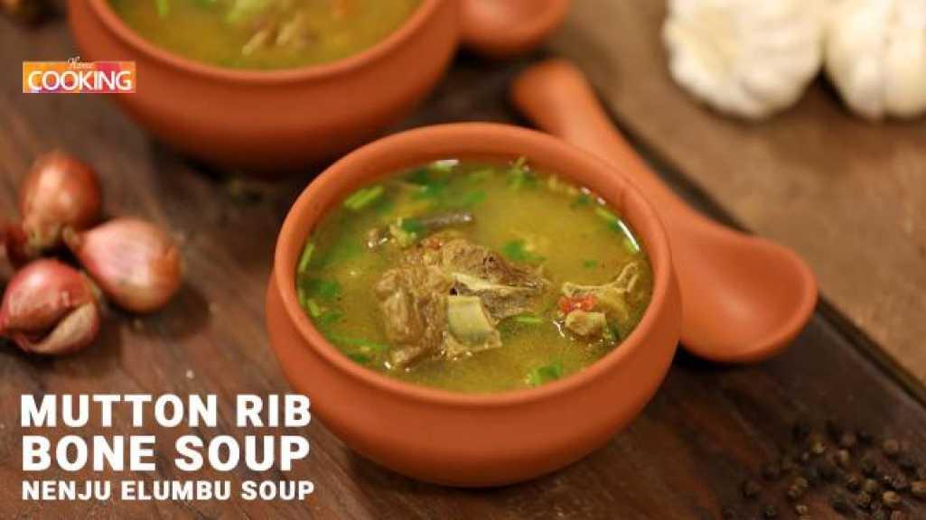 Mutton Rib Bone Soup