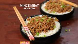 Mince Meat Rice Bowl