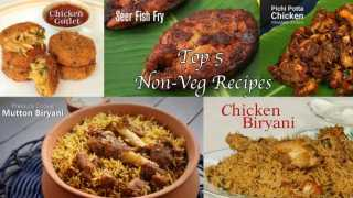 Top 5 Non-Veg Recipes