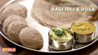 Ragi Idli and Dosa