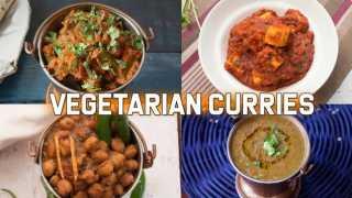 4 Dhaba Style Curries (Vegetarian)