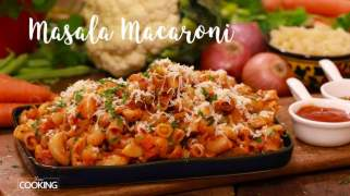 Masala Macaroni /  Lunchbox recipe