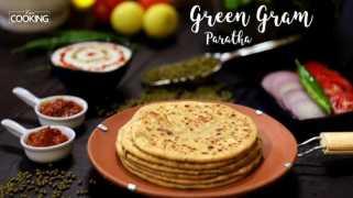 Green Gram Paratha