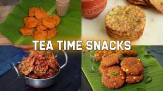 Tea-Time Snack Recipes