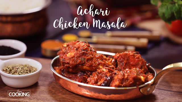 Achari Chicken Masala