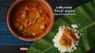 மண்பானை கோழி  குழம்பு  Claypot Chicken Curry in Tamil