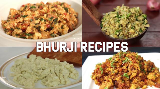 4 Quick and Tasty Bhurji / Scramble Recipes