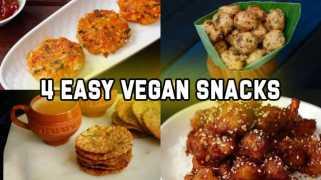 4 Easy Vegan snacks