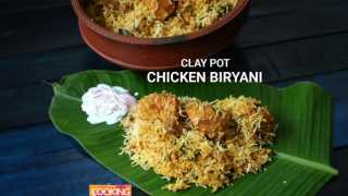 Clay Pot Chicken Biryani