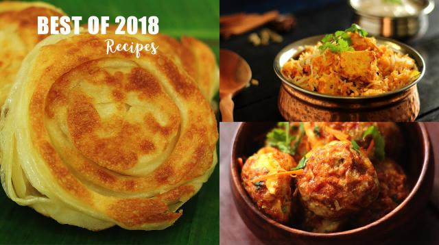Best of 2018 Recipes