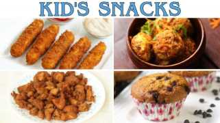 4 Yummy Snack Ideas For Your Kids - Summer Edition By HomeCooking
