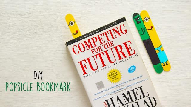 DIY Popsicle Bookmark