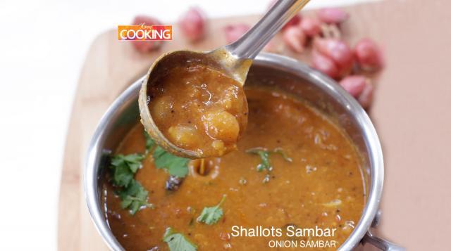 Shallots Sambar