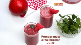 Pomegranate Watermelon Juice