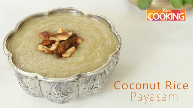 Coconut Rice Payasam
