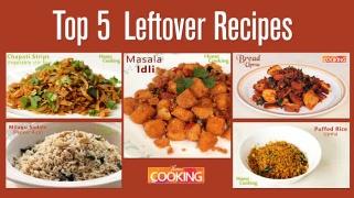 Top 5 Leftover Recipes -