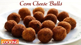 Corn Cheese Balls  Snacks
