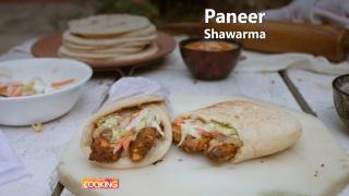 Paneer Shawarma