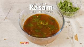 Easy & Quick Rasam using rasam powder