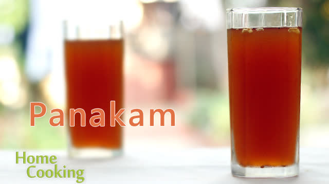 Summer Cooler - Panakam (Jaggery, ginger & pepper Drink)